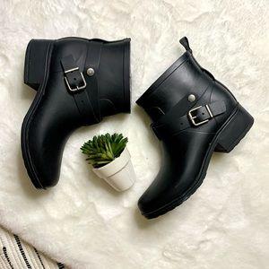 Lucky Brand Rindah Ankle Rubber Rain Boots Sz7